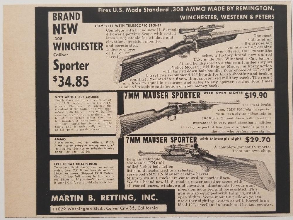 Pin på Vintage Hunting Ads