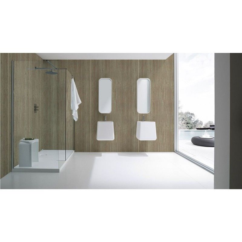 Aquabord Mm Shower Wall Panels Classic Marble Laminate Panel - Aquabord laminate panels