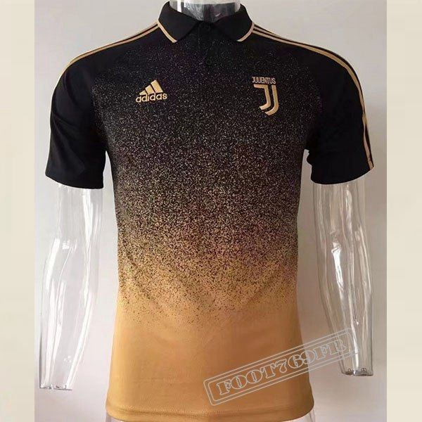 Achetez Nouveau Chemise Polo Juventus Manche Courte Rouge Jaune 2017 2018   Foot769Fr 277b2a86ff82