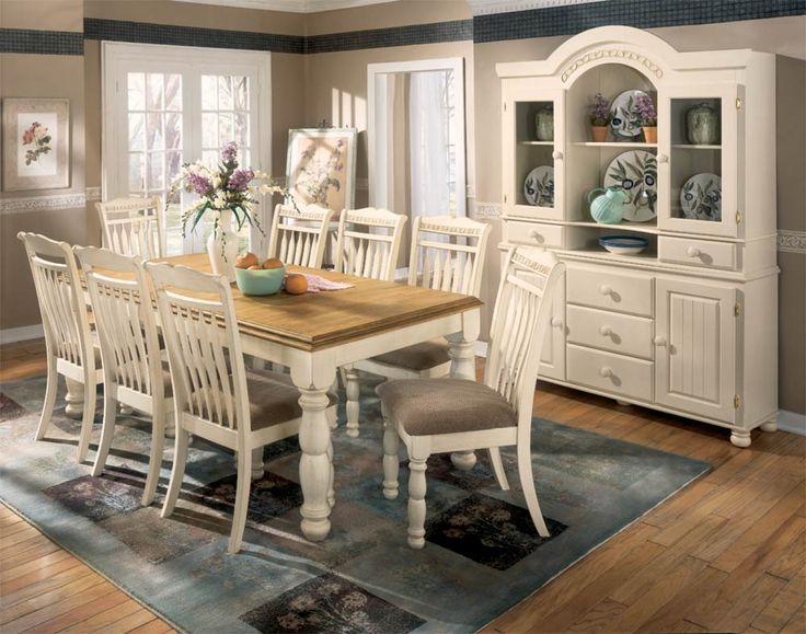 Casa De Campo Com Decoracao Provencal Pesquisa Google Country Style Dining Room Dining Room Table Chairs White Dining Room Table Cottage retreat dining room furniture