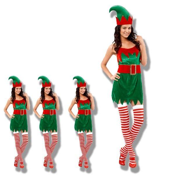 Disfraz Elfo Mujer Disfraces Carnaval 2015 chicas
