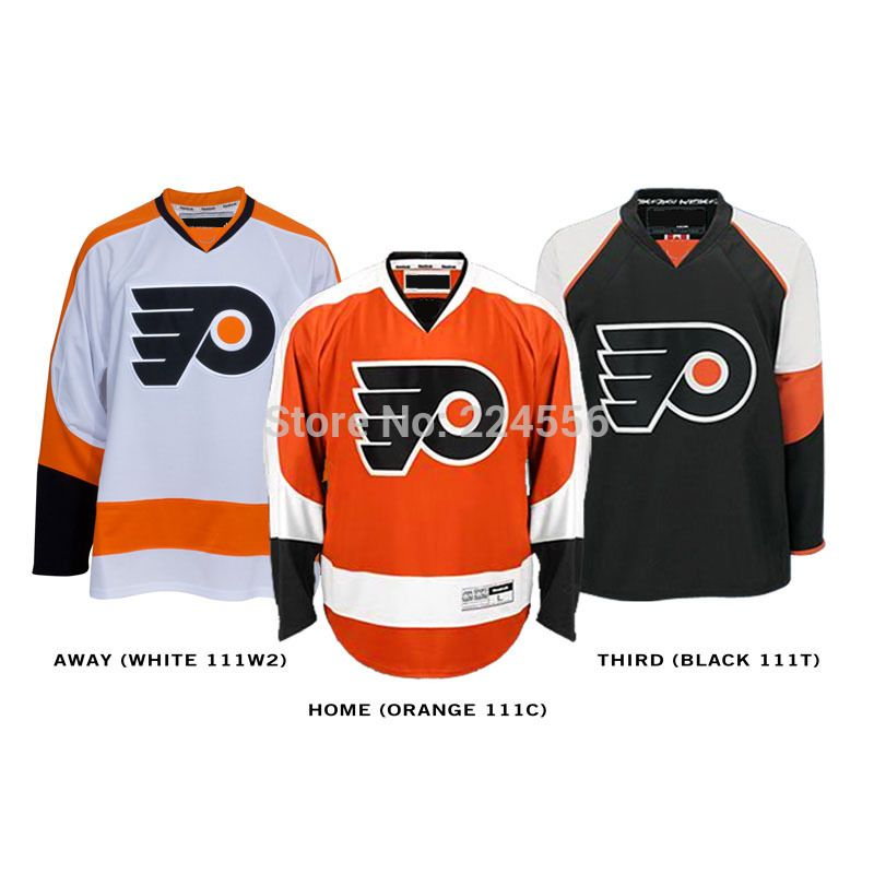 Find More Sports Jerseys Information about Customize Philadelphia Flyers  jersey ice hockey jersey cheap Home Away Alternate Embroidery Logo Sew on  Any Name ... 47c222d3d