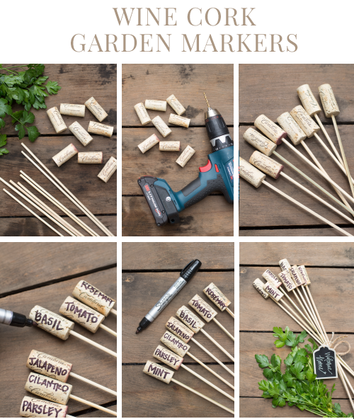 Wine Cork Garden Markers - Welcome to Blog