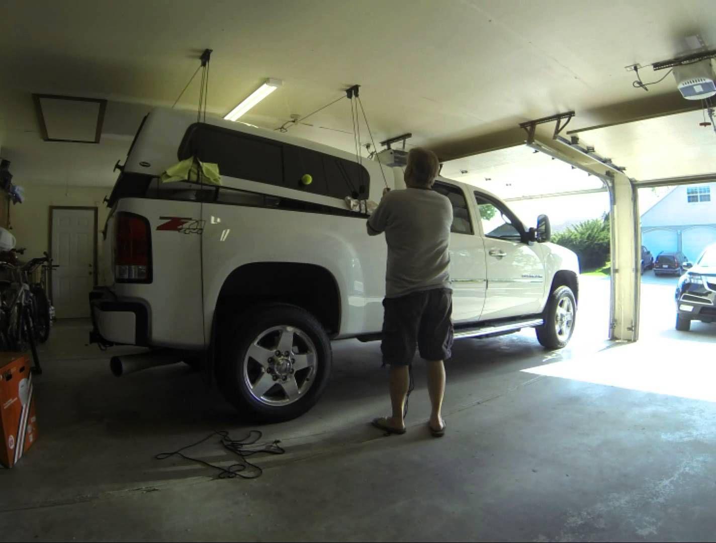 Image result for truck canopy hoist