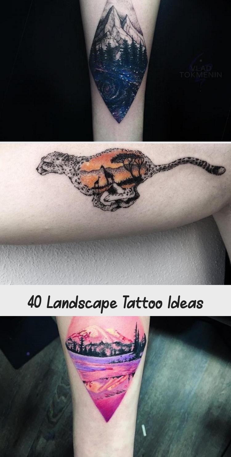 Photo of Landscape Tattoo Ideas #RenaissanceArtTattoo #MexicanArtTattoo #ArtTattooDesign …