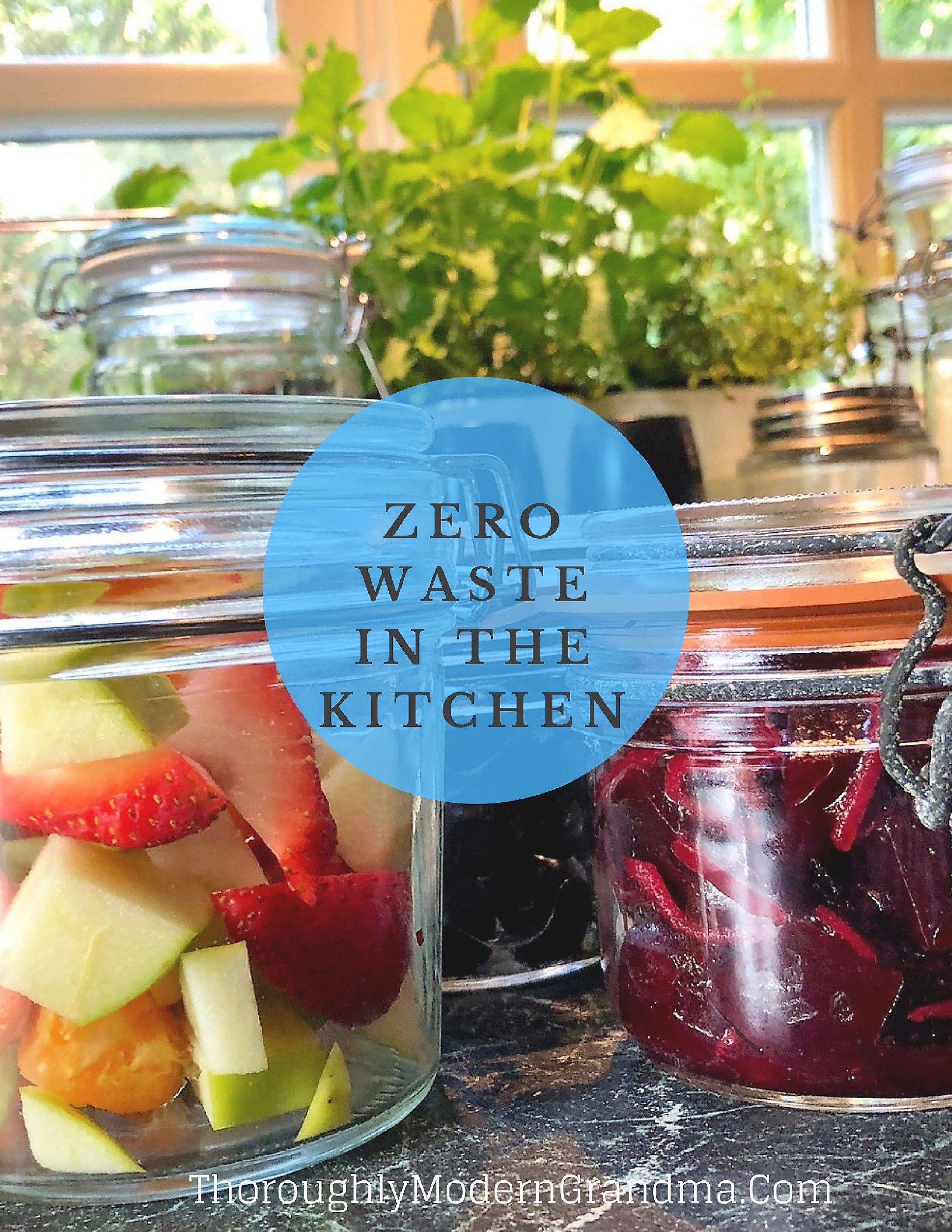 Zero Waste - Starting in the Kitchen - | Zero waste, Reuse and Blogging