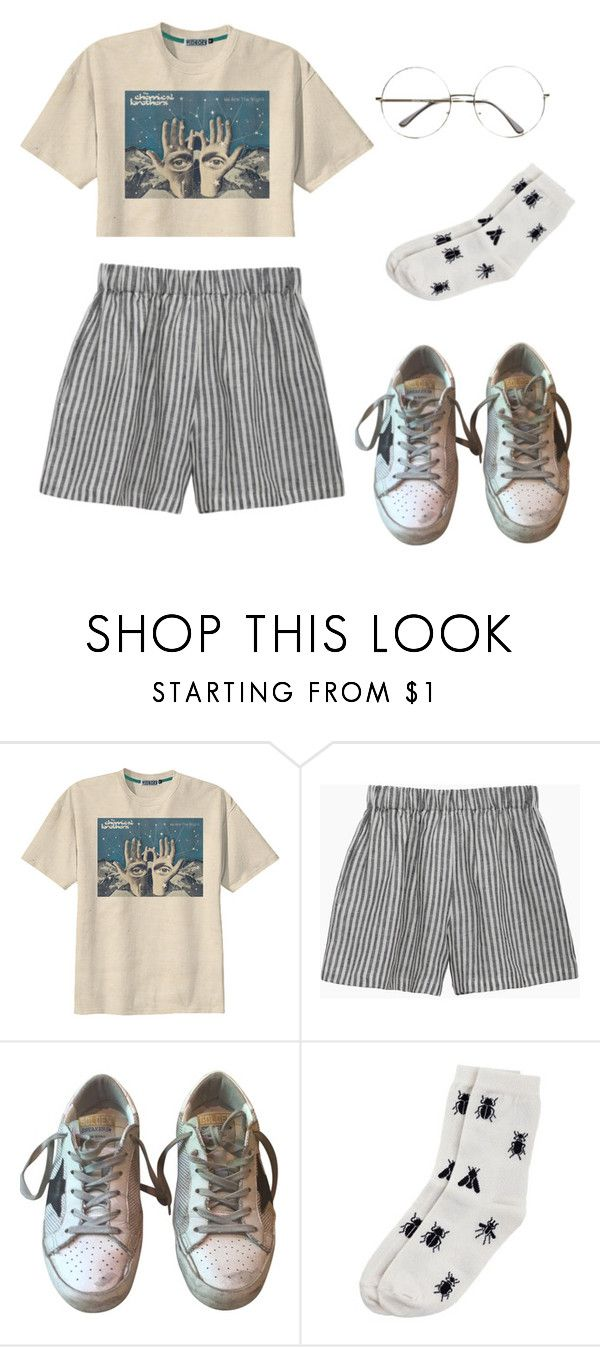 """Untitled #7"" by qveerleader ❤ liked on Polyvore featuring Retrò, le vestiaire de jeanne, Golden Goose and Monki"