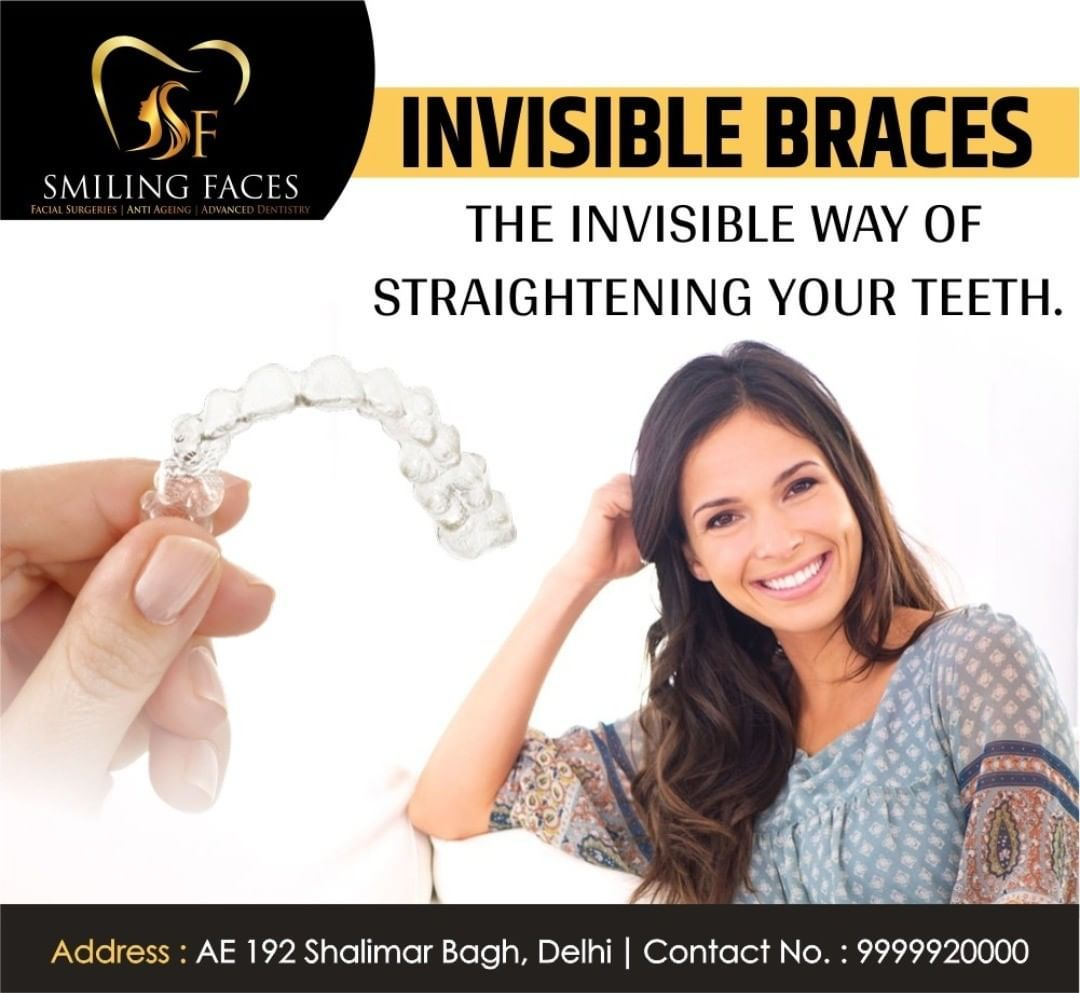 With Invisalign, you can straighten your teeth without