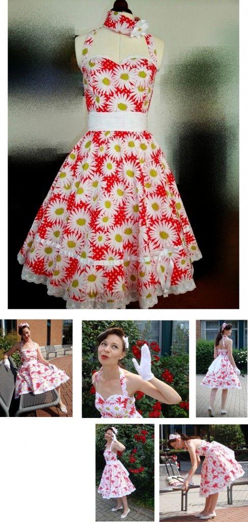 patron gratuit robe rockabilly | couture | Pinterest | Couture ...