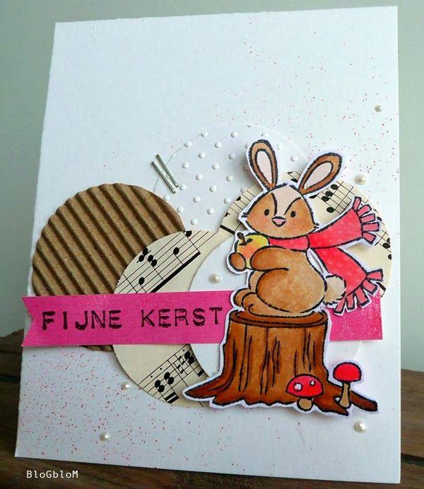 Eline Pellinkhof's clear stamp