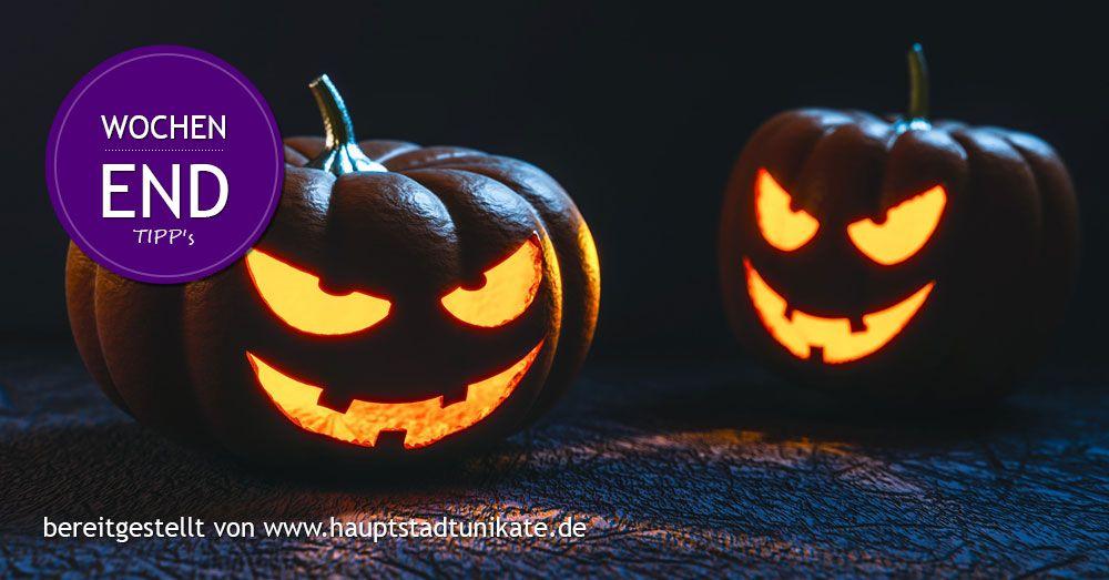 Hauptstadtunikate: Wochentipps Berlin 28.10.16 - 31.10.16 #Halloween Party #Botansicher #Garten und #Tierparkt #Kreativ Tage #Messe