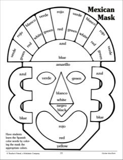 Mexican Mask Costume Pattern