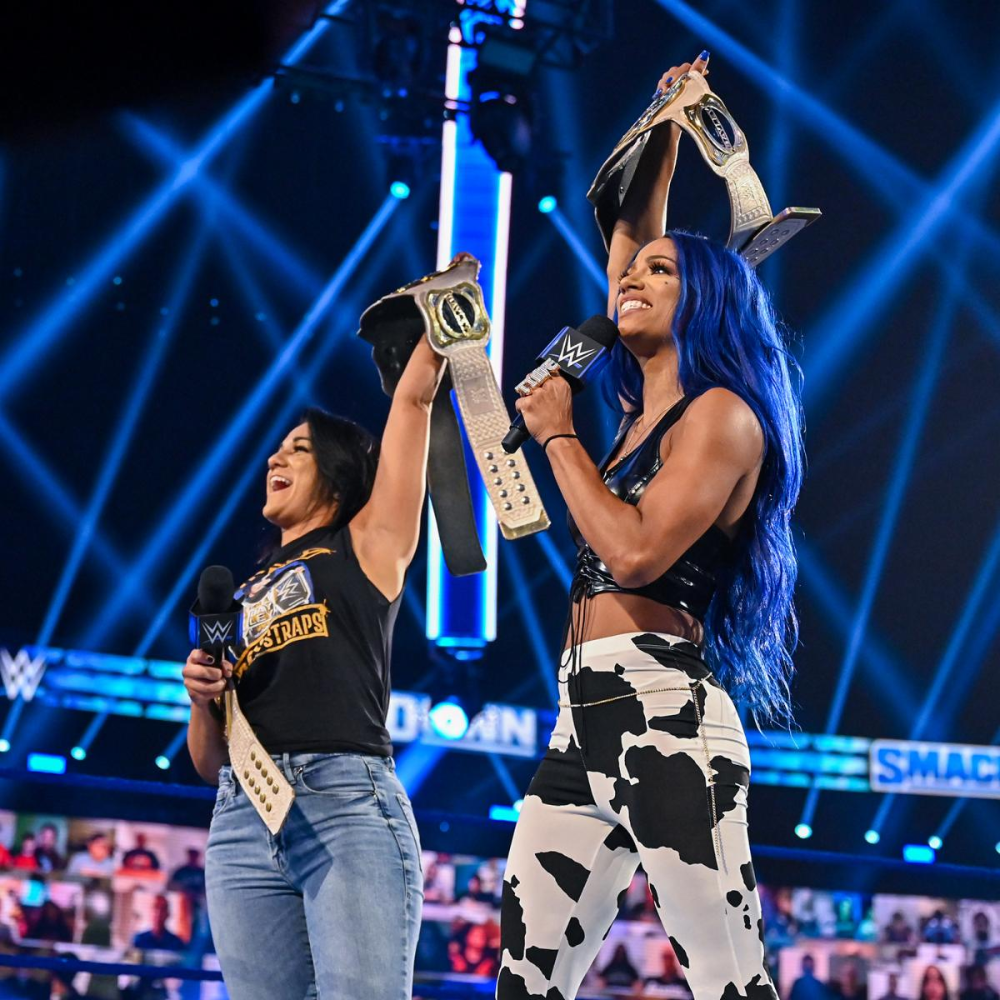 Photos Don T Miss These Incredible Photos From The Blue Brand Sasha Bank Wwe Womens Raw Women S Champion