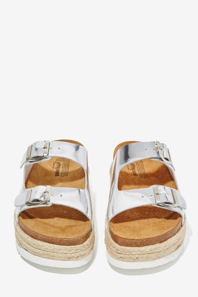 eaf8a83123f Jeffrey Campbell Auerlia Leather Espadrille Sandal - Shoes ...