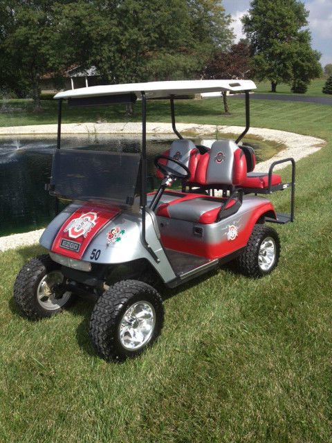 Ohio State Buckeyes Golf Cart The Ohio St Collectionary Golf Carts Ohio State Buckeyes Clothes Ohio State Buckeyes