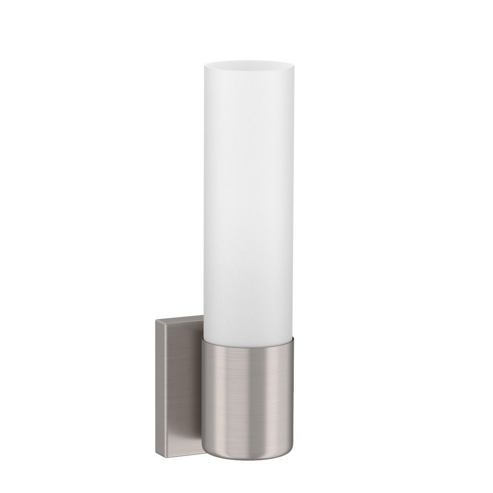 "Photo of Park Harbor PHVL2031 Leaman 13 ""ADA compliant bathroom light with simple light – brushed nickel"