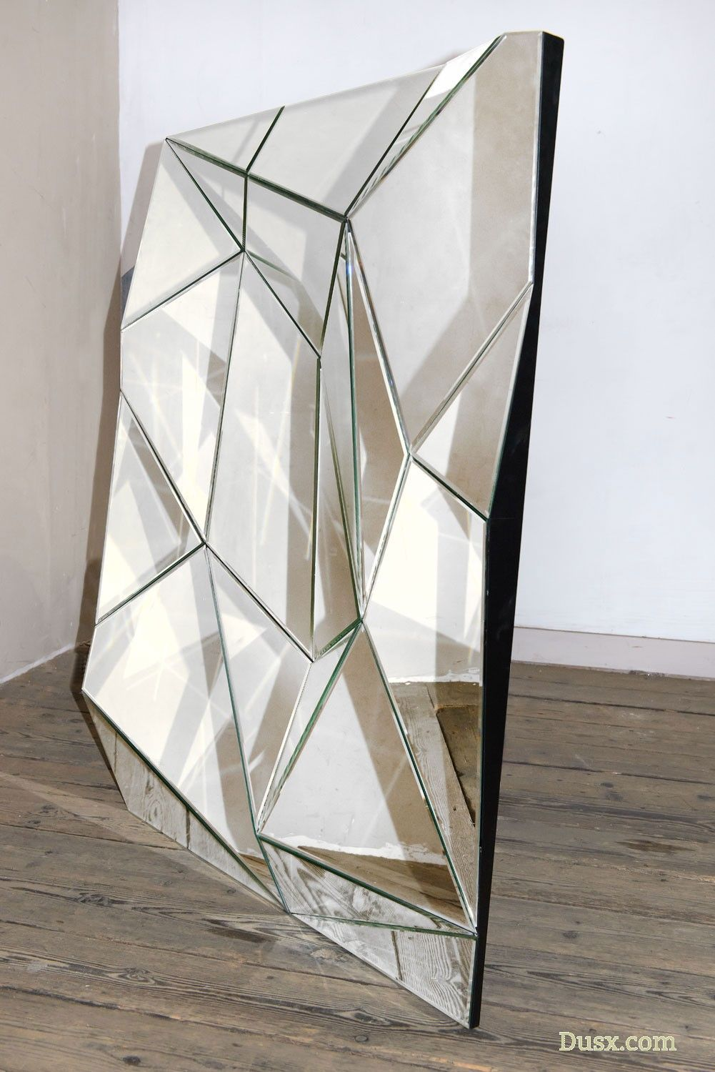 Wow So Stunning Shop This Contemporary Venetian Geometric Prism Decorative Wall Bedroom Hall Mirror Mirror Design Wall Lighted Wall Mirror Modern Mirror Wall