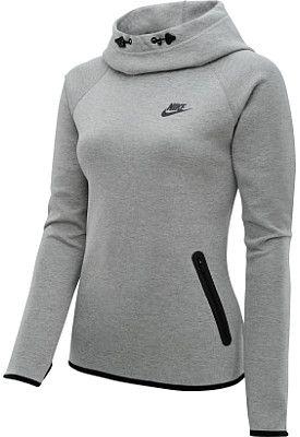 0f7b93ac03f9 NIKE Women s Tech Fleece Pullover Hoodie - SportsAuthority.com