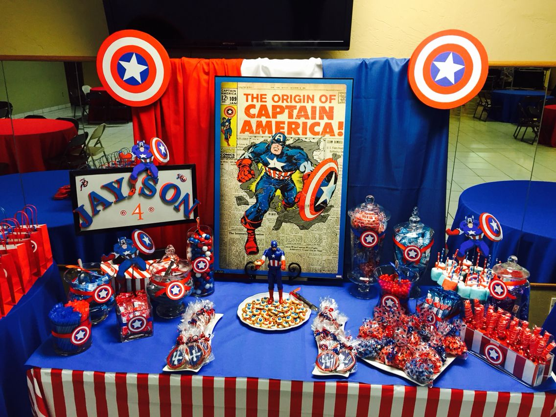 Captain America Candy Bar