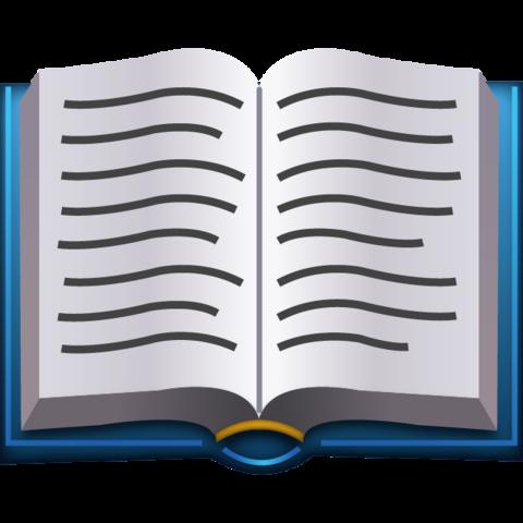 Open Book Emoji Open Book Emoji Emoji Stickers
