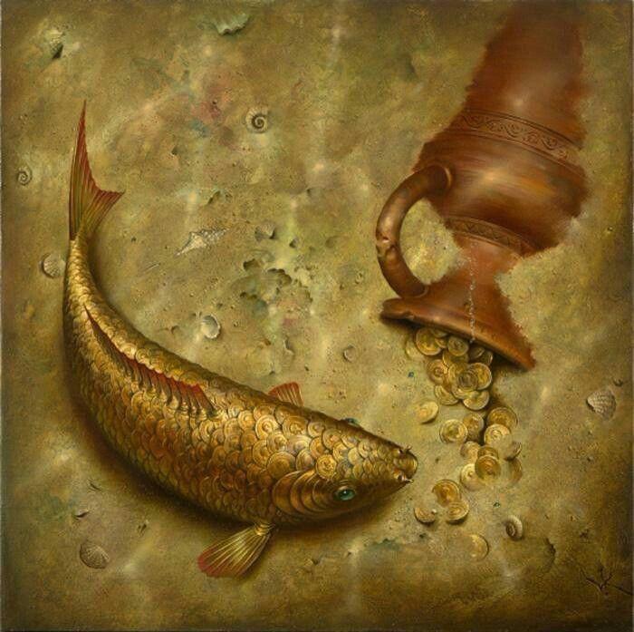 Gold fish...
