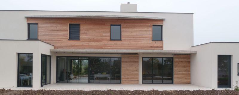 menuiseries aluminium avec volets roulants alu gris anthracite volet coulissant bois avec cadre. Black Bedroom Furniture Sets. Home Design Ideas