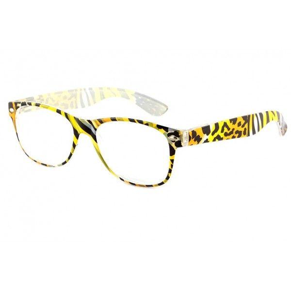 880bb4da590e76 Lunettes loupe fantaisie femme design noire et jaune façon léopard modèle  Valta, lunette de lecture