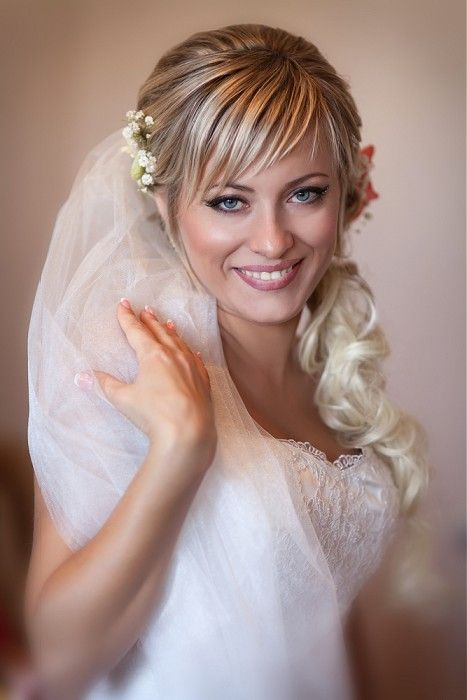 20 Straight Wedding Hairstyles Ideas | Long blonde hairstyles and ...