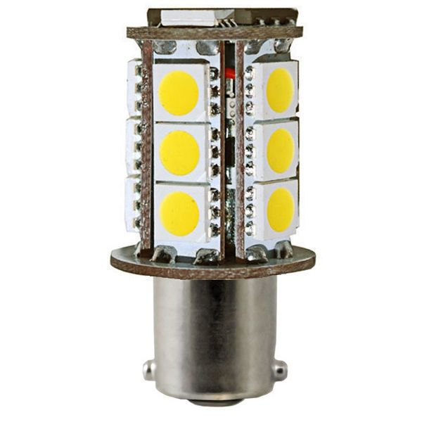 3w Led Warm White Ba15s Base Plt 1156 24smd5050 27k Led Replacement Bulbs Led 1000bulbs Com