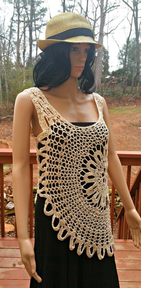 Crochet Top Pattern M L Crochet Top Pattern Crochet Shirt
