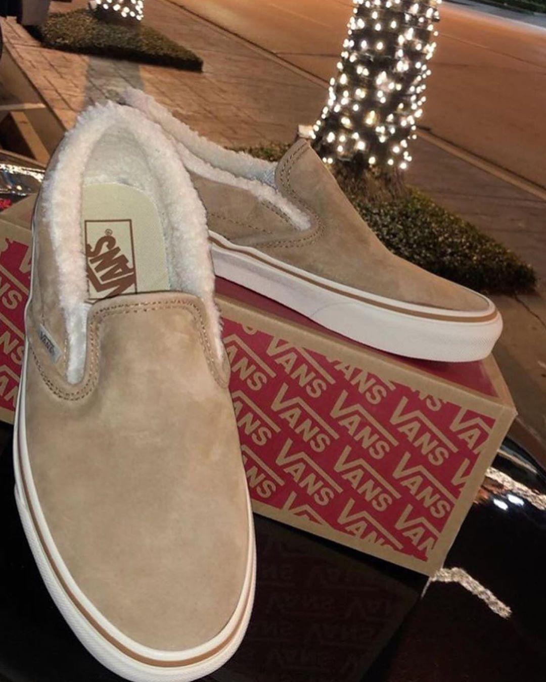 Fluffy shoes, Vans