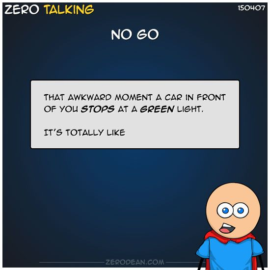 No go #ZeroTalking