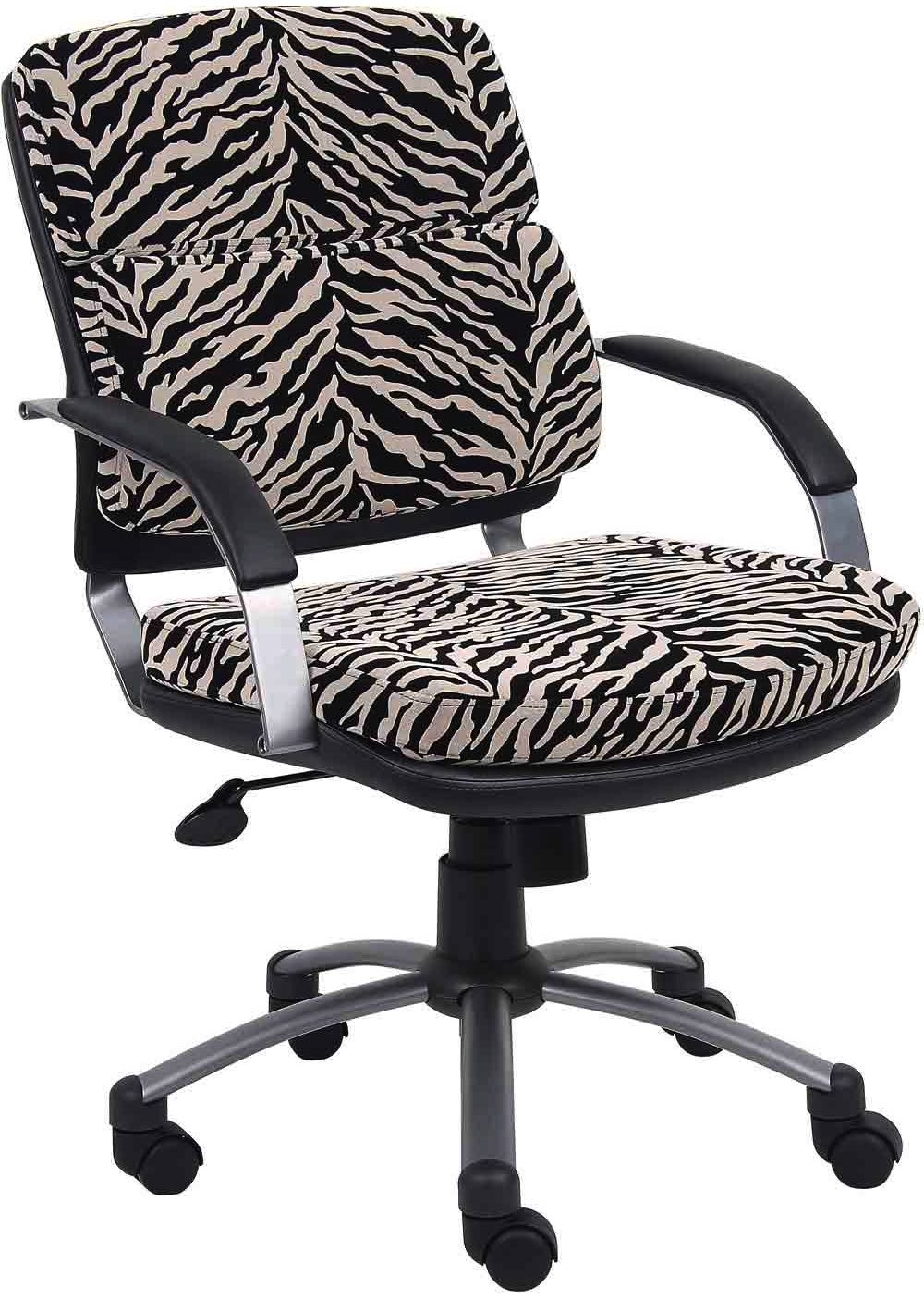 Office Chair All Things Zebra Zebra Chair Contemporary