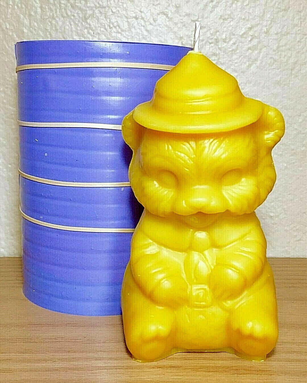 3d silicone teddy bear mold homemade candle mold soap