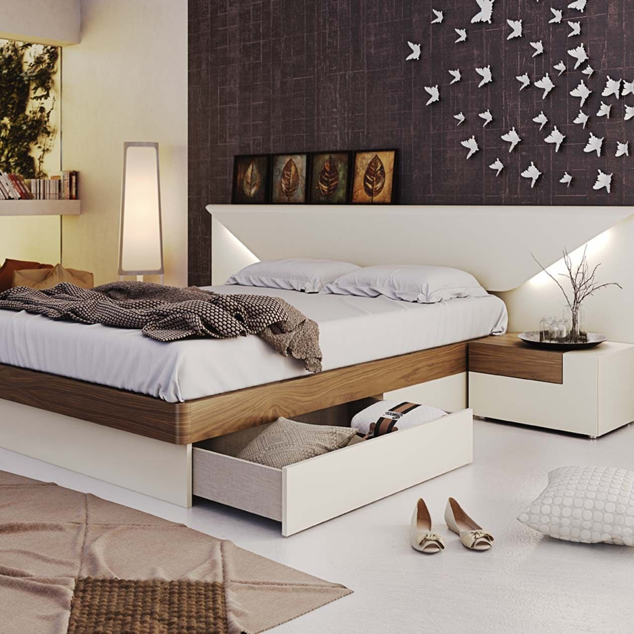 Elena Modern Italian Bedroom set N Star Modern Furniture | Trend ...