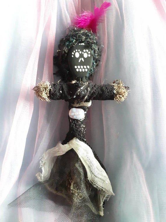 Voodoo Doll, dark, authentic, art doll, New Orleans ...