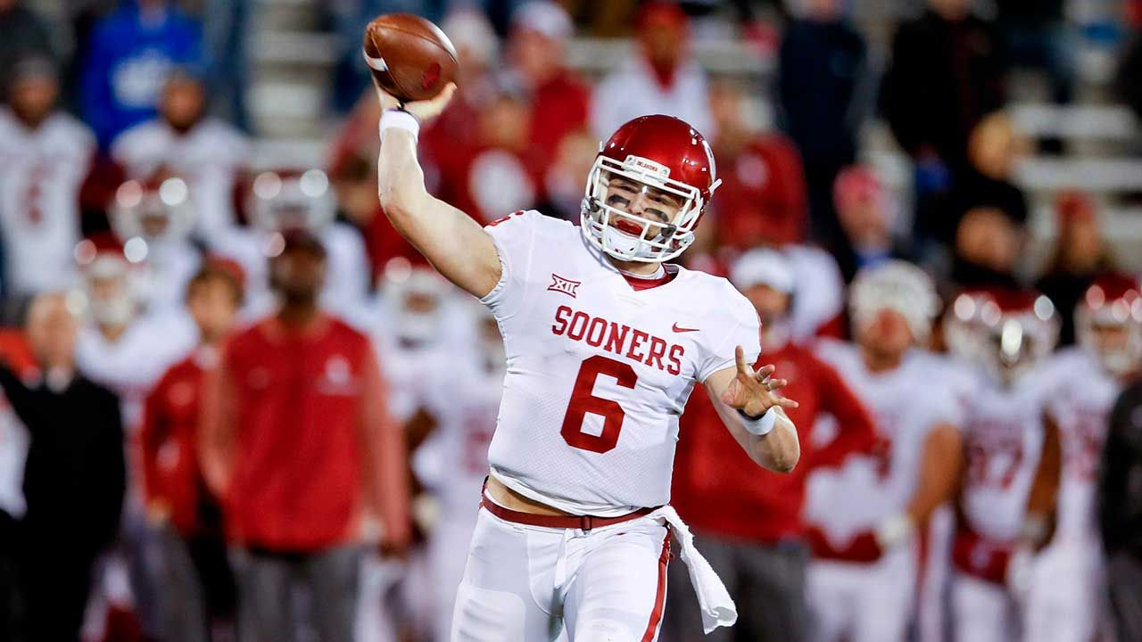 Browns select QB Baker Mayfield No. 1 overall in 2018 NFL