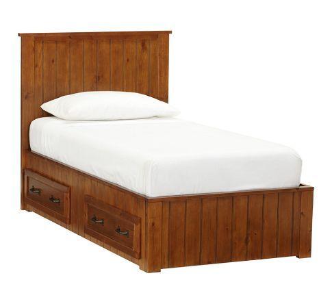 Belden Bed with Headboard | Pottery Barn Kids | Boerum Hill ...