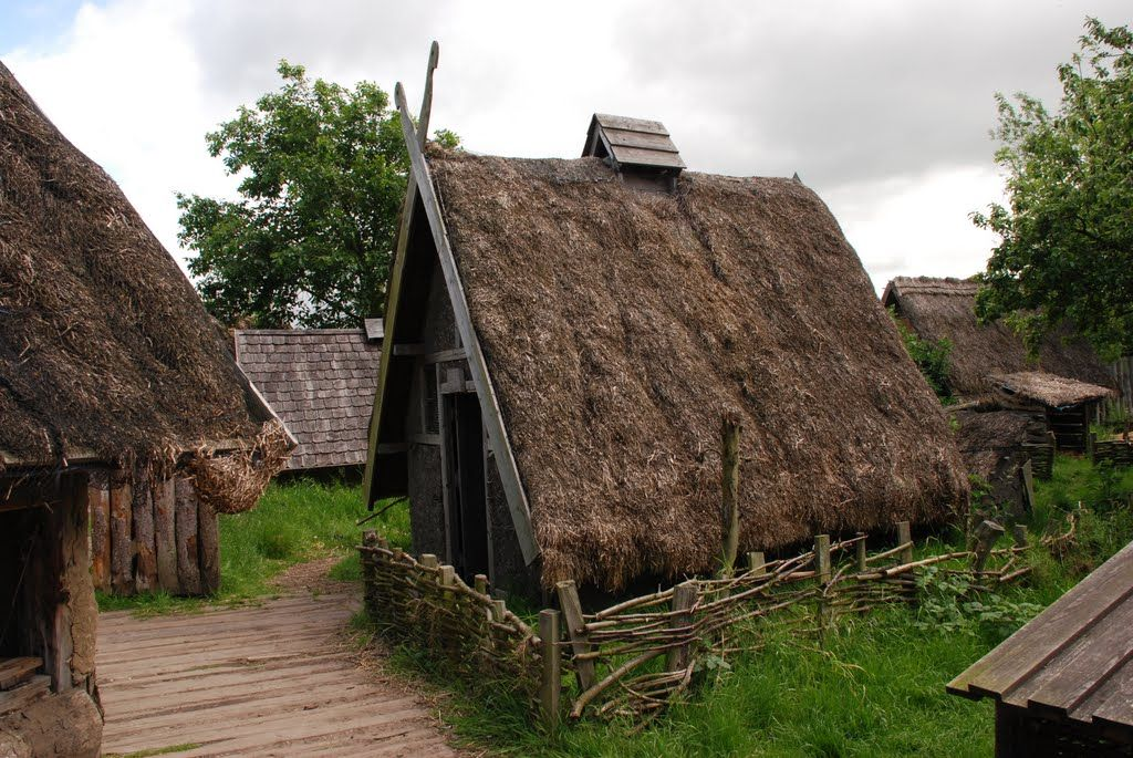 Medievalvisions Viking Village By 37057viking Viking House Viking Village Vikings