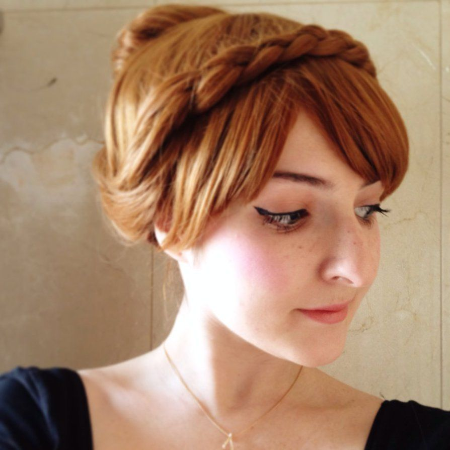 Anna Coronation tester wig and make-up by Alinechan | a good model ...