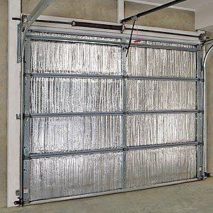 Single Sided Garage Door Insulation Kit By Innovative Brands 149 00 An Attached Garage Is Garage Door Insulation Garage Door Insulation Kit Door Insulation