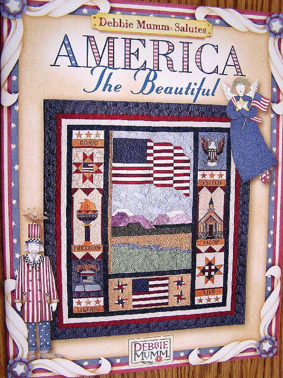 New Pattern Booklet Debbie Mumm America The Beautiful