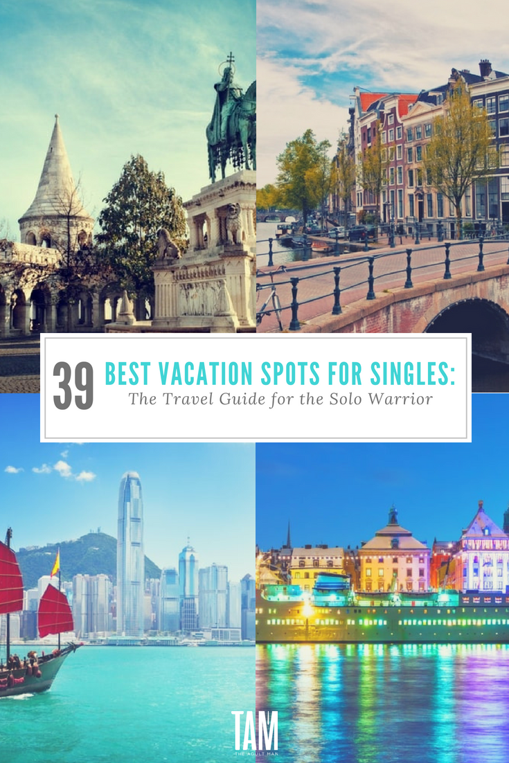 single man vacation ideas