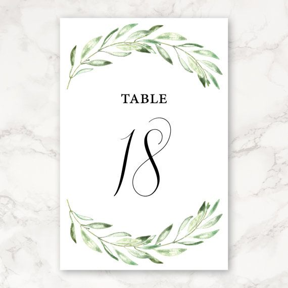 graphic about Printable Wedding Table Numbers titled Printable Wedding ceremony Desk Quantities - 4x6 - Incorporates Quantities 1