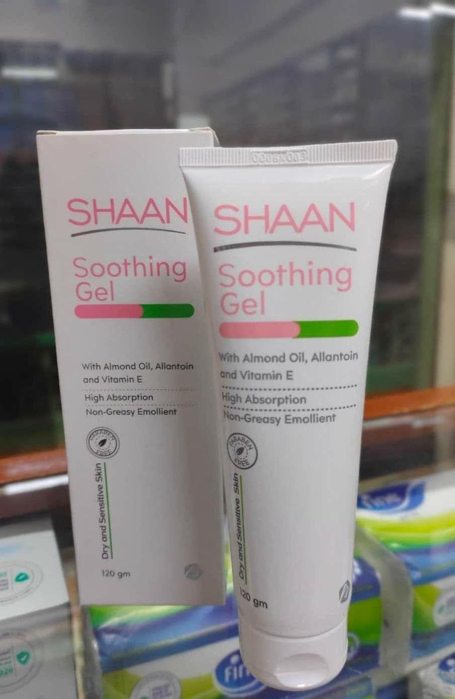 Shaan Soothing Gel Gel Emollient Almond Oil