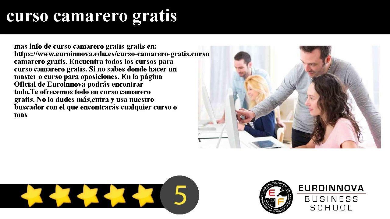 Resultado de imagem para curriculum camarero ejemplo | curriculo ...