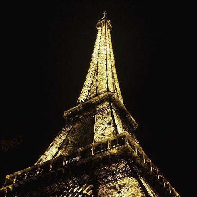 Dreams come true  #paris #france #eiffeltower #night by yanusenika Eiffel_Tower #France