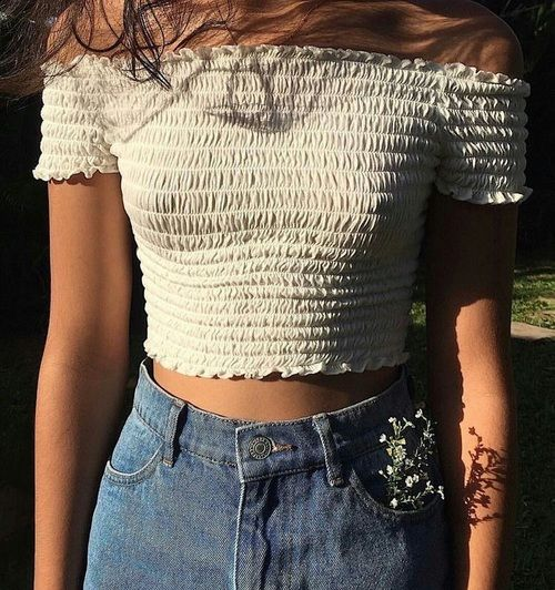 Image about fashion in Summer🌻 by Hena on We Heart It is part of Fashion - Shared by Hena  Find images and videos about fashion, style and tumblr on We Heart It  the app to get lost in what you love