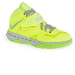 first rate bd8d9 d70b0 Nike  LeBron Soldier 7  Basketball Shoe (Toddler   Little Kid) Volt  Electric  Green 12 M - product - Product Review