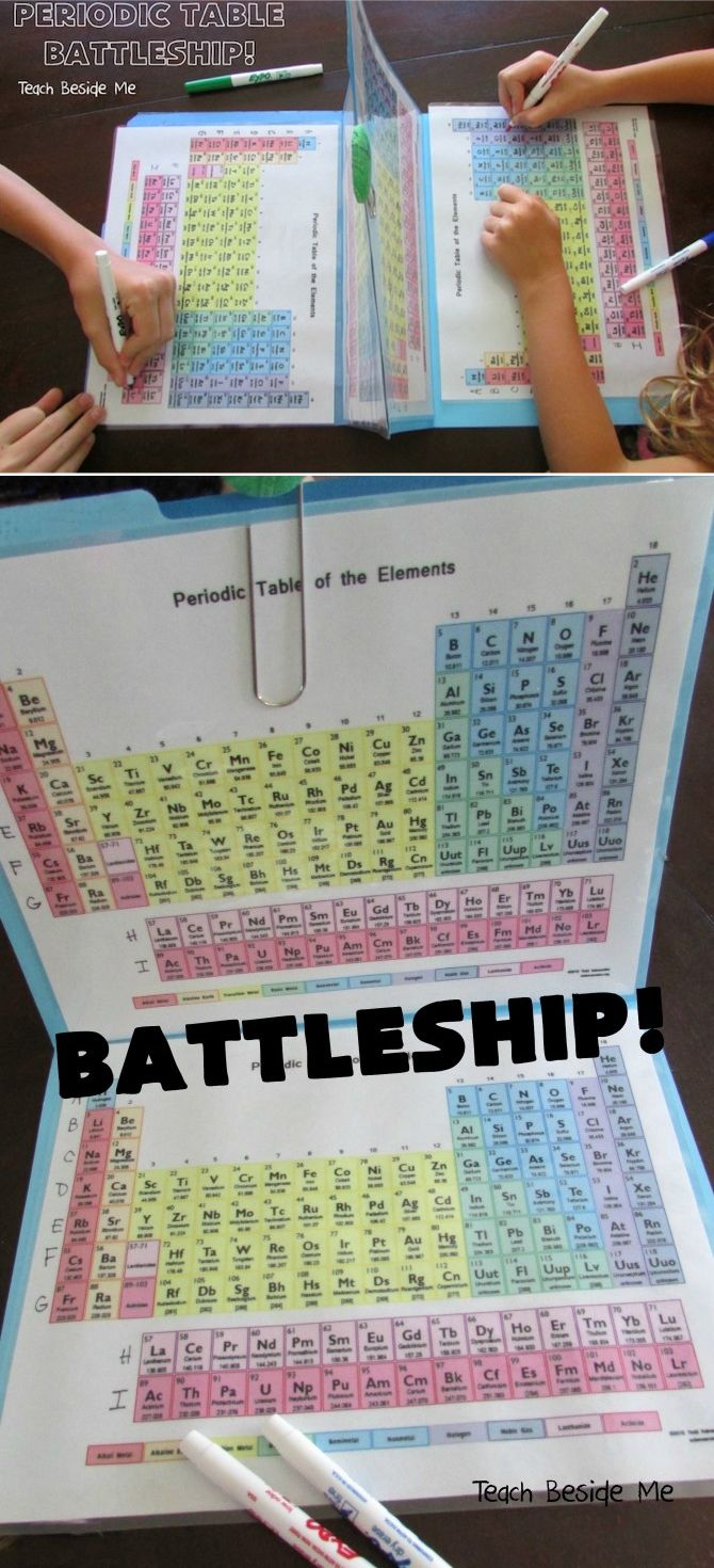 Mom Puts An Educational Twist On Battleship To Help Kids